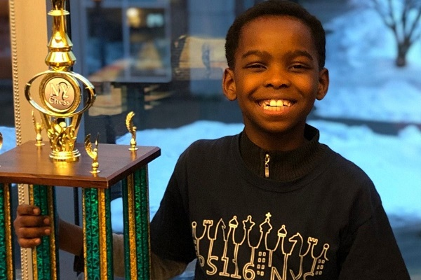 8 Year Old Chess Champion Tanitoluwa Adewumi