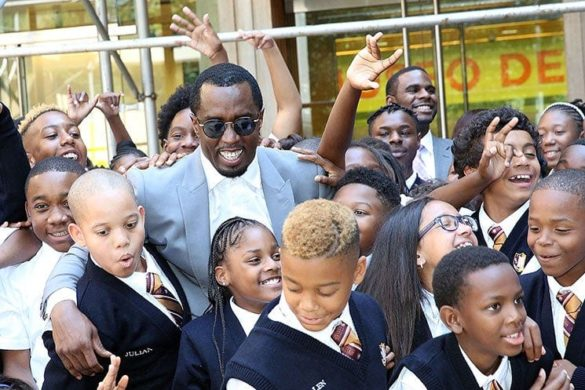 Sean Diddy Combs Opens Third Charter School